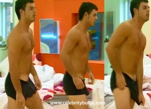 Anthony Big Brother, huge underwear bulge, ass