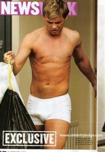 Jeff Brazier underwear bulge